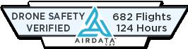Airdata UAV|Drone Safety Verified Badge