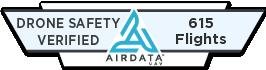Airdata UAV Drone Safety Verified Badge