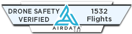 Airdata UAV|Drone Safety Verified Badge